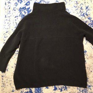 Oversized Free People Navy Sweater